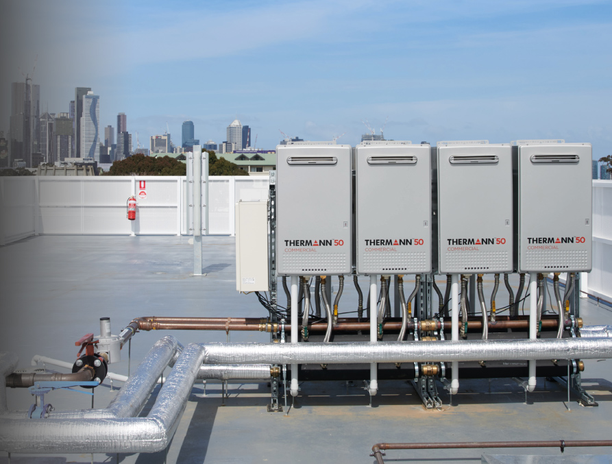 Thermann Commercial solution on roof